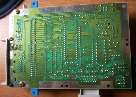 AV Famicom mainboard - Solder side