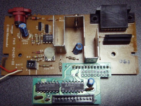 FMD-POWER-02 board w/ daughterboard