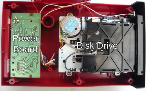 Inside the Famicom Disk System drive