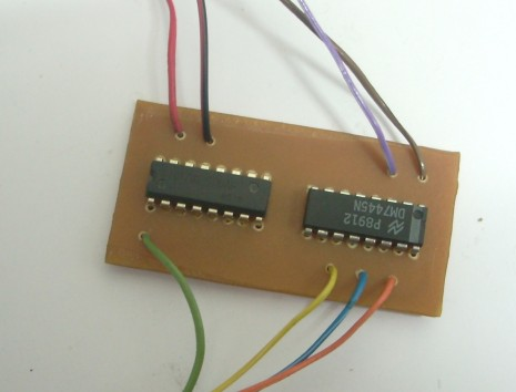 Example of finished Modfication Board