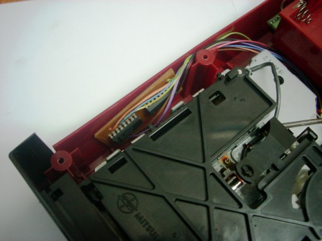 Secure the mod board to the case to avoid rattling and/or short circuits.