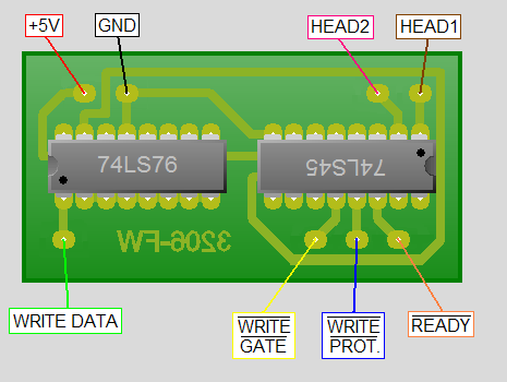 Printed Circuit Board Wiring Diagram