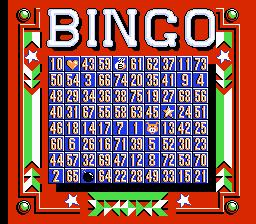 Bingo.