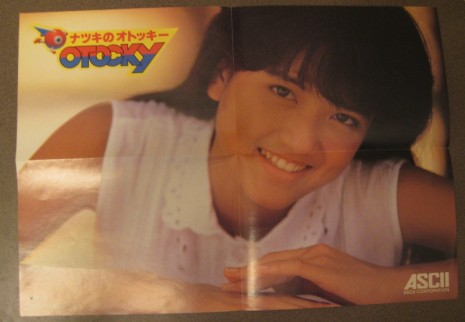 Natsuki Ozawa pack-in poster.  She would later become an AV idol.